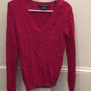Ralph Lauren Sport Cableknit Sweater - M